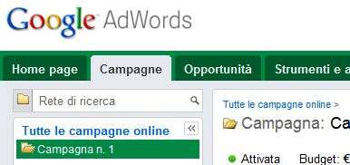 varianti adwords