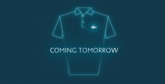 lacoste presenta la sua polo of the future