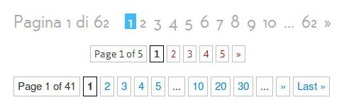 navigazione numerata