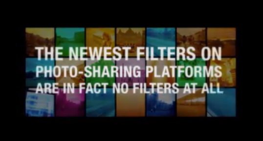 campagna marketing #NofilterJustRayBan