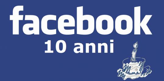 facebook dieci anni