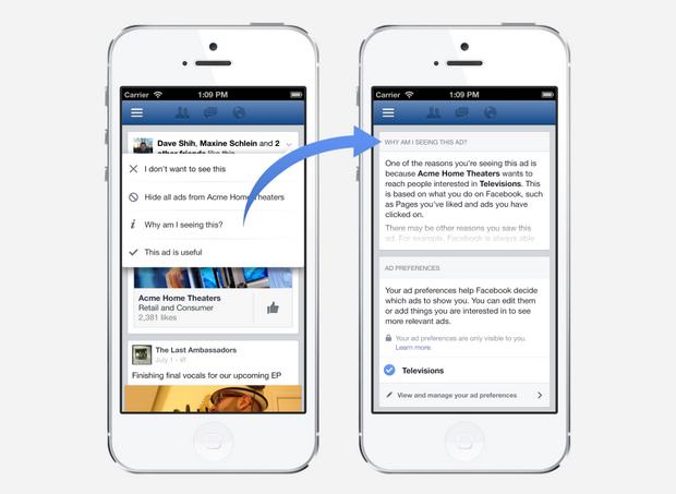 facebook ads preference