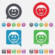 diversi smile emoji