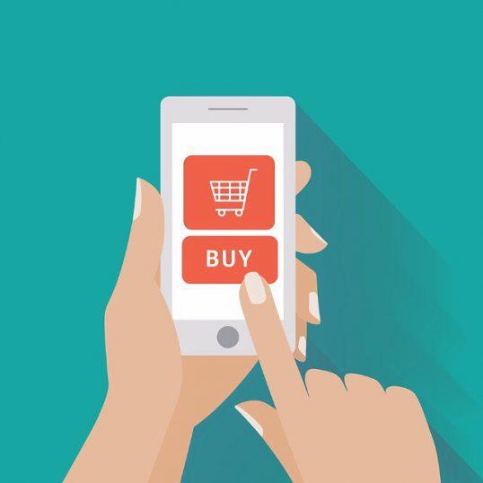 L'icona del vostro e-commerce appare sullo smartphone direttamente per il touch.
