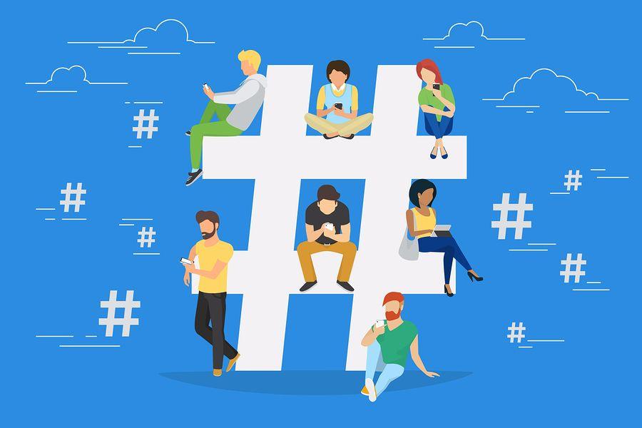 importanza uso corretto hashtag