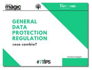 GDPR privacy le nuove regole